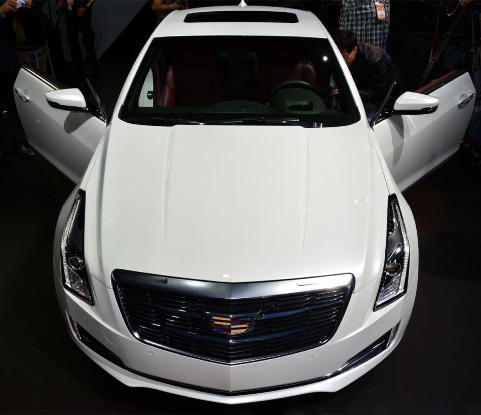 фото Cadillac ATS Coupe 2015 года