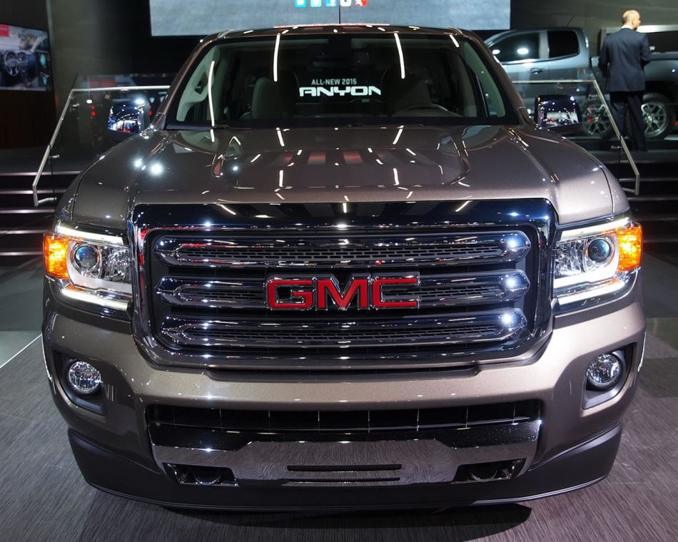 фото GMC Canyon 2015