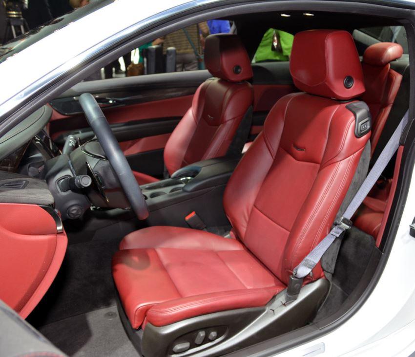 интерьер Cadillac ATS Coupe 2015