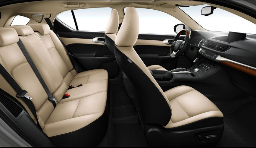 интерьер Lexus CT 200h