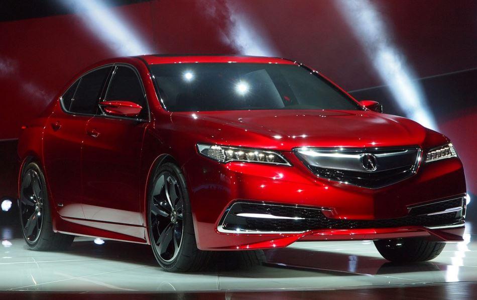концепт Acura TLX 2014