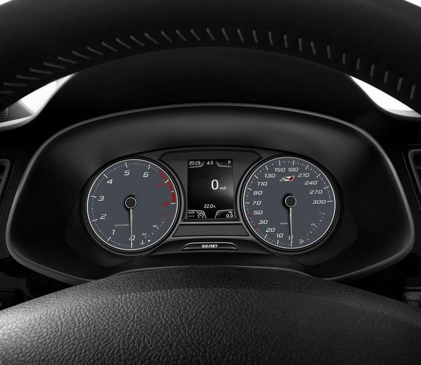 панель приборов Seat Leon Cupra 2014