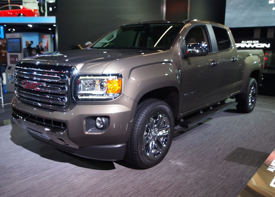 пикап GMC Canyon 2015