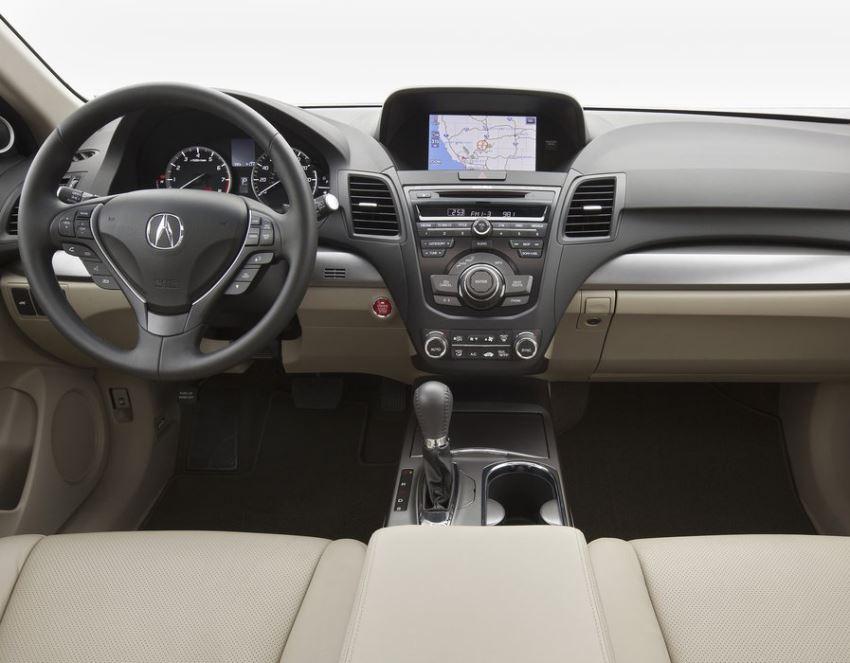 салон Acura RDX 2014