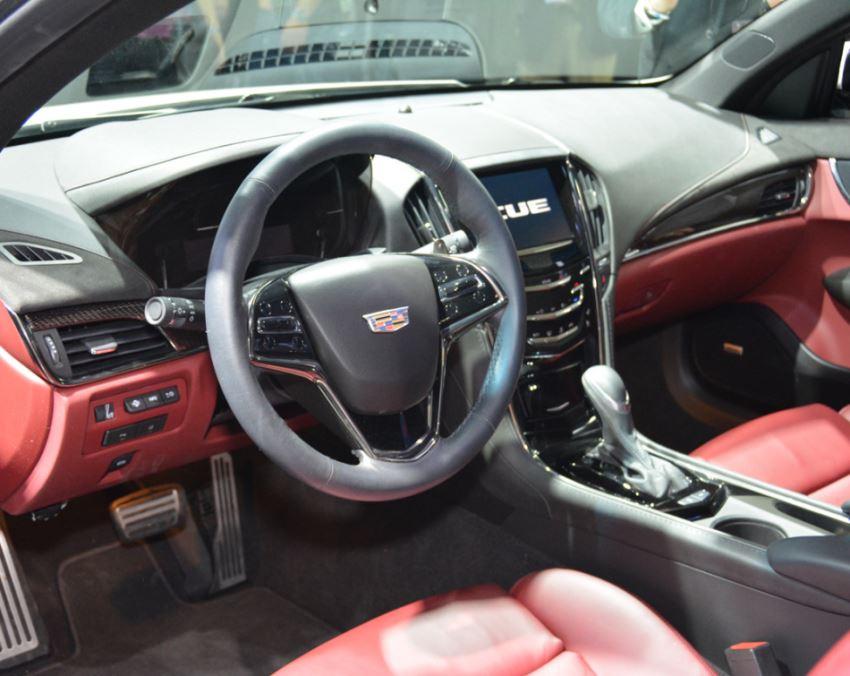 салон Cadillac ATS Coupe 2015