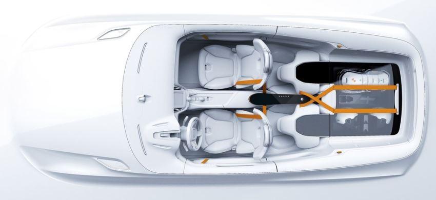 салон Volvo XC Coupe Concept