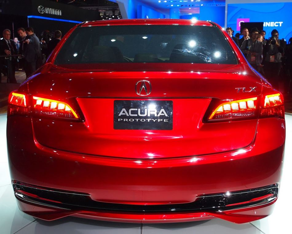 задние фонари Acura TLX Concept