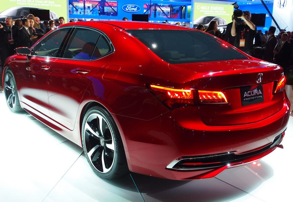 задняя часть Acura TLX Concept 2014