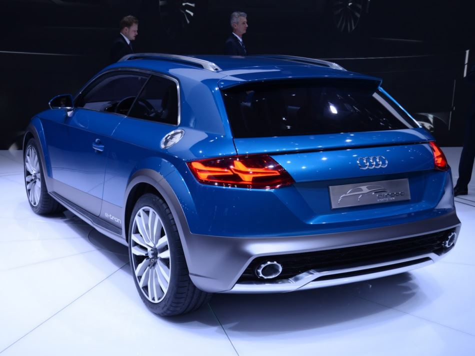 задняя часть Audi Allroad Shooting Brake 2014