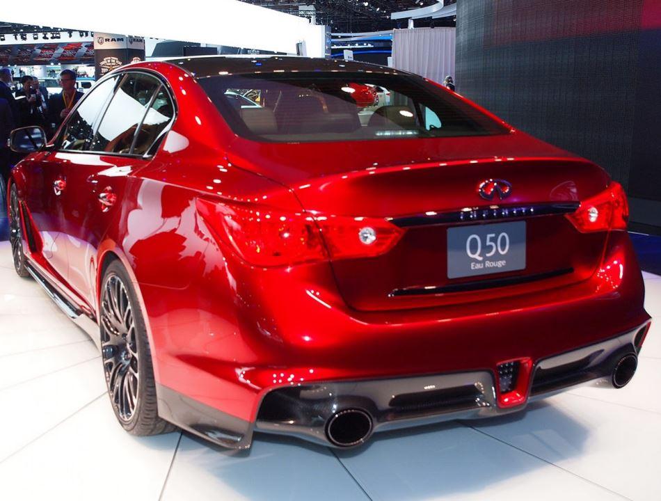 задняя часть Infiniti Q50 Eau Rouge Concept 2014