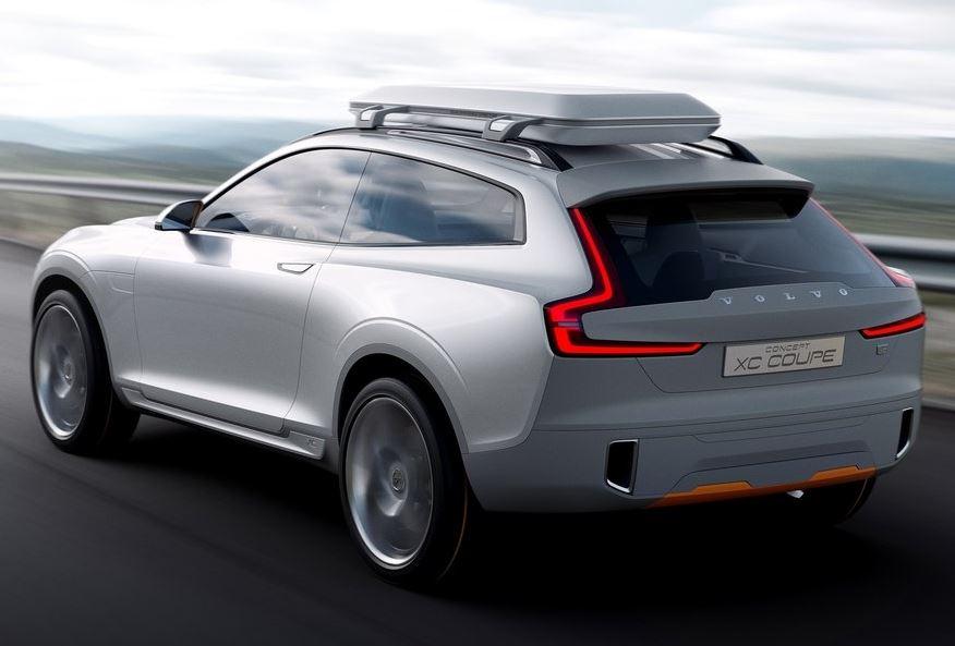 задняя часть Volvo XC Coupe Concept