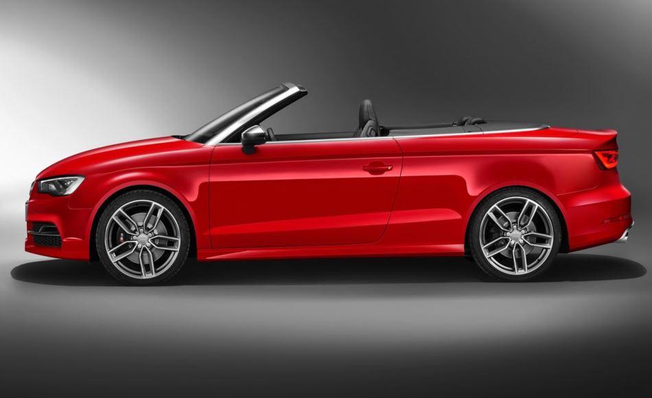 Audi S3 Cabriolet 2015 сбоку