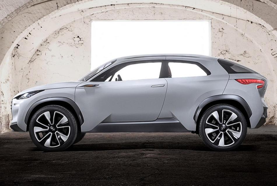 Hyundai Intrado Concept сбоку