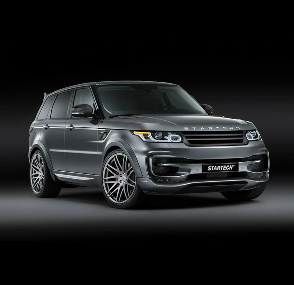 Тюнинг Range Rover Sport 2 от ателье Startech