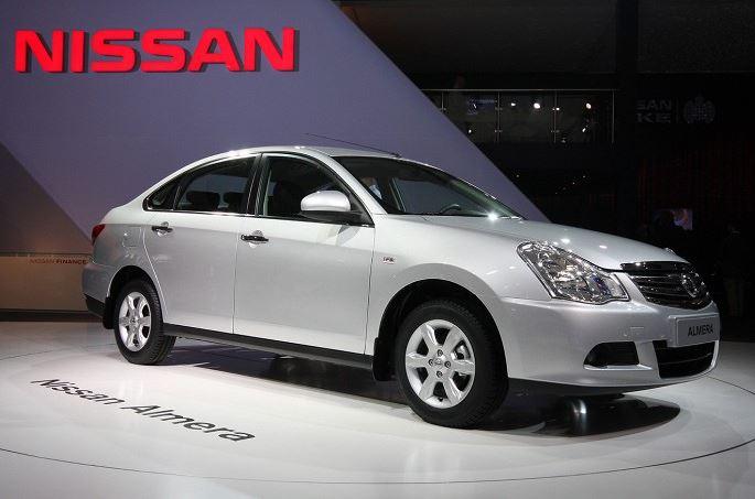 диски Nissan Almera 2014