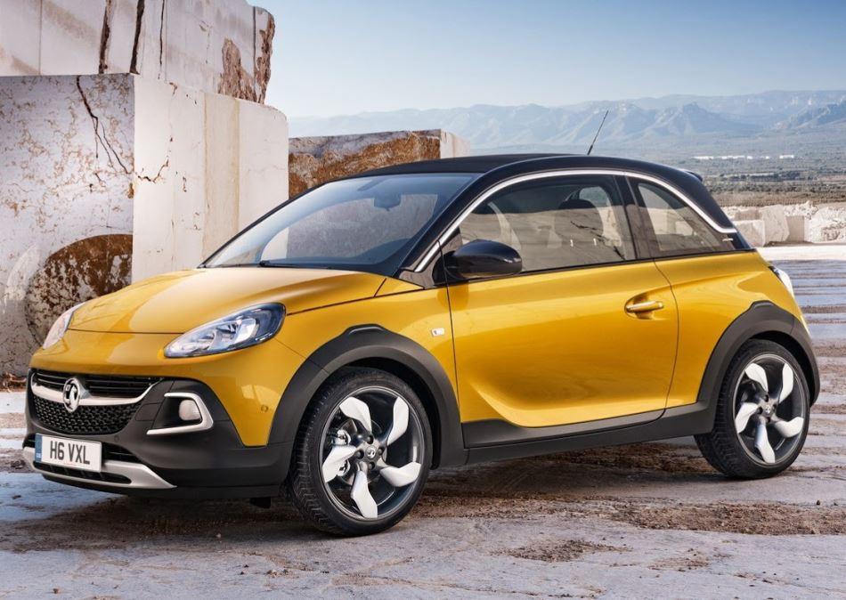 диски Opel Adam Rocks 2015