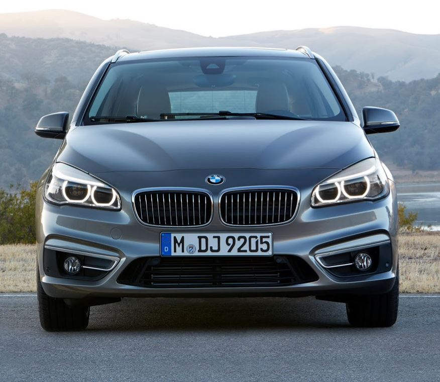 фары и бампер BMW 2-Series Active Tourer 2015
