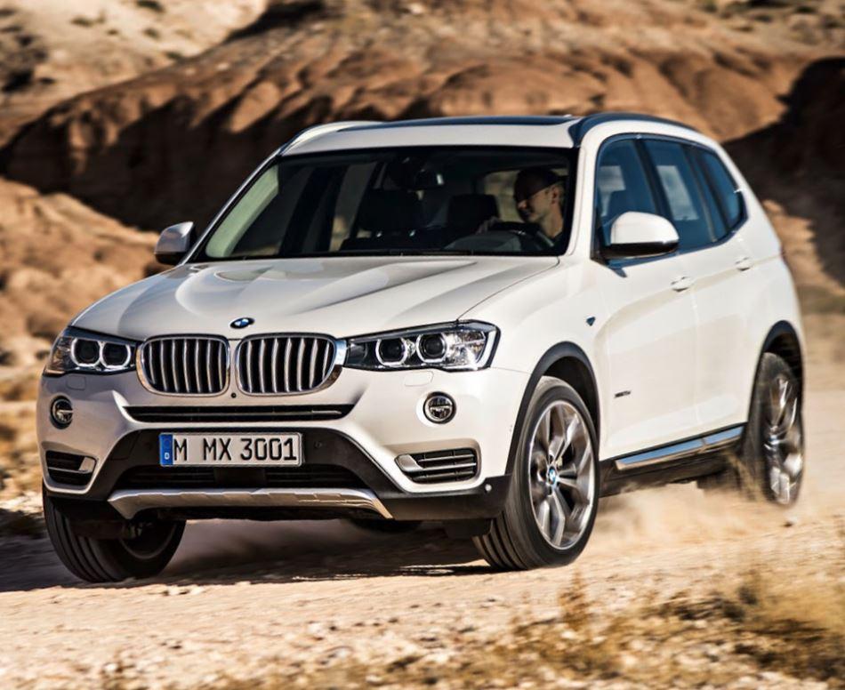 фото BMW X3 2015 года