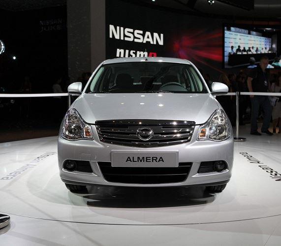 фото Nissan Almera 2014
