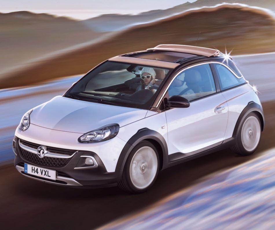 фото Opel Adam Rocks 2015 года