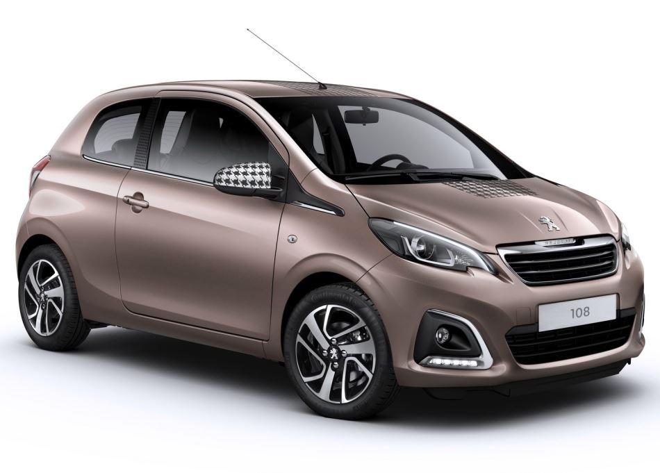 Новый хетчбэк Peugeot 108 2015