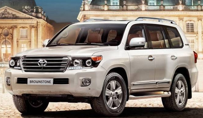фото нового Land Cruiser 200 Brownstone 2014