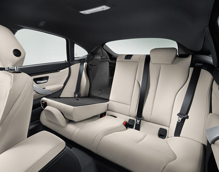 интерьер BMW 4-Series Gran Coupe 2015