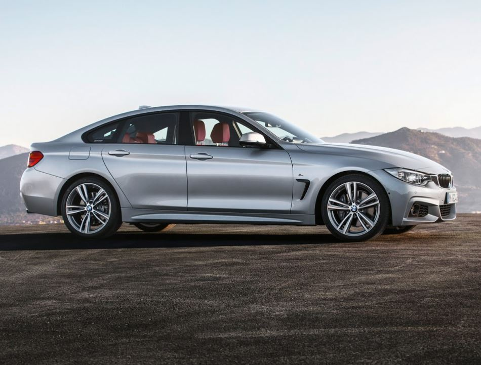 купе БМВ 4-Series Gran Coupe 2015 сбоку
