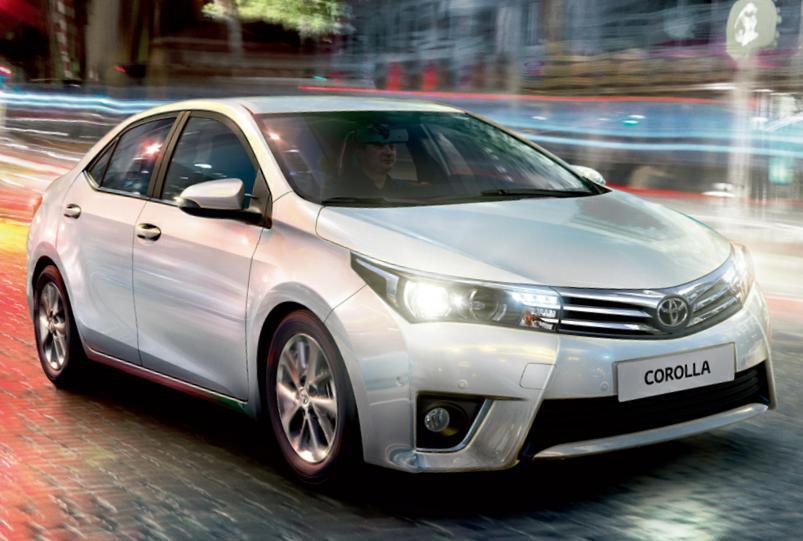 В России отзывают Toyota Corolla 2013