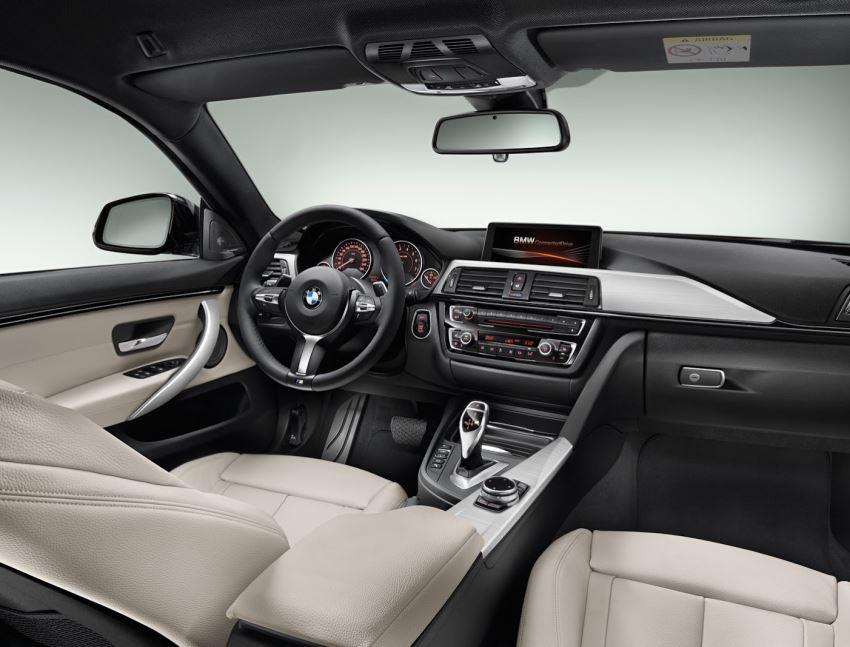 салон BMW 4-Series Gran Coupe 2015