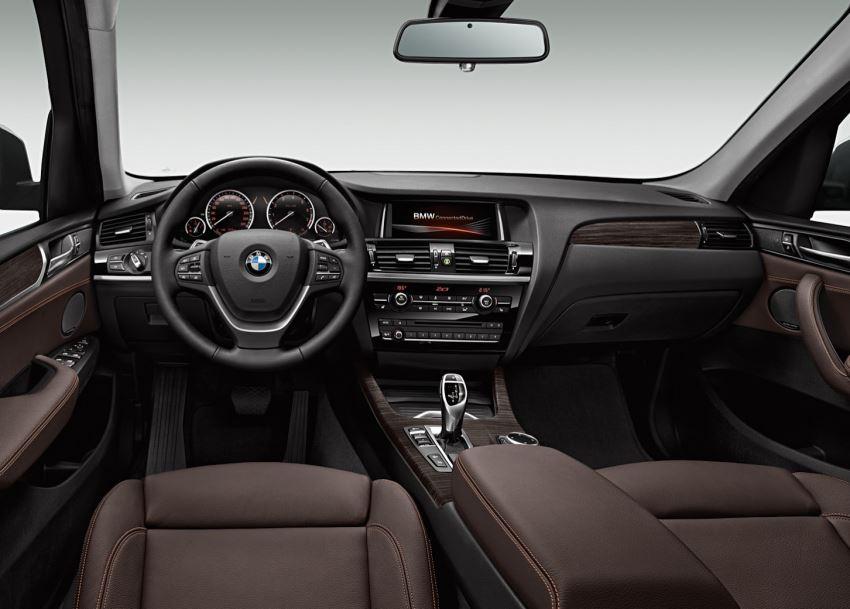 салон BMW X3 2015