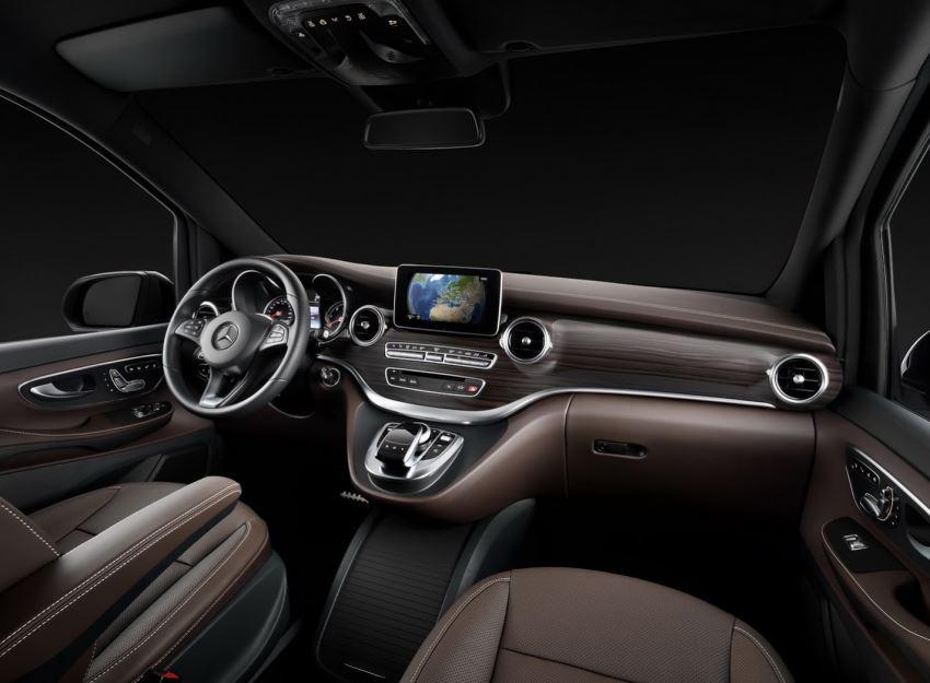 салон Mercedes V-Class 2015 года