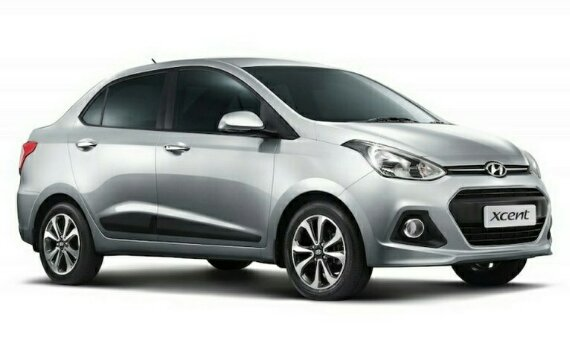 фары и бампер Hyundai Xcent
