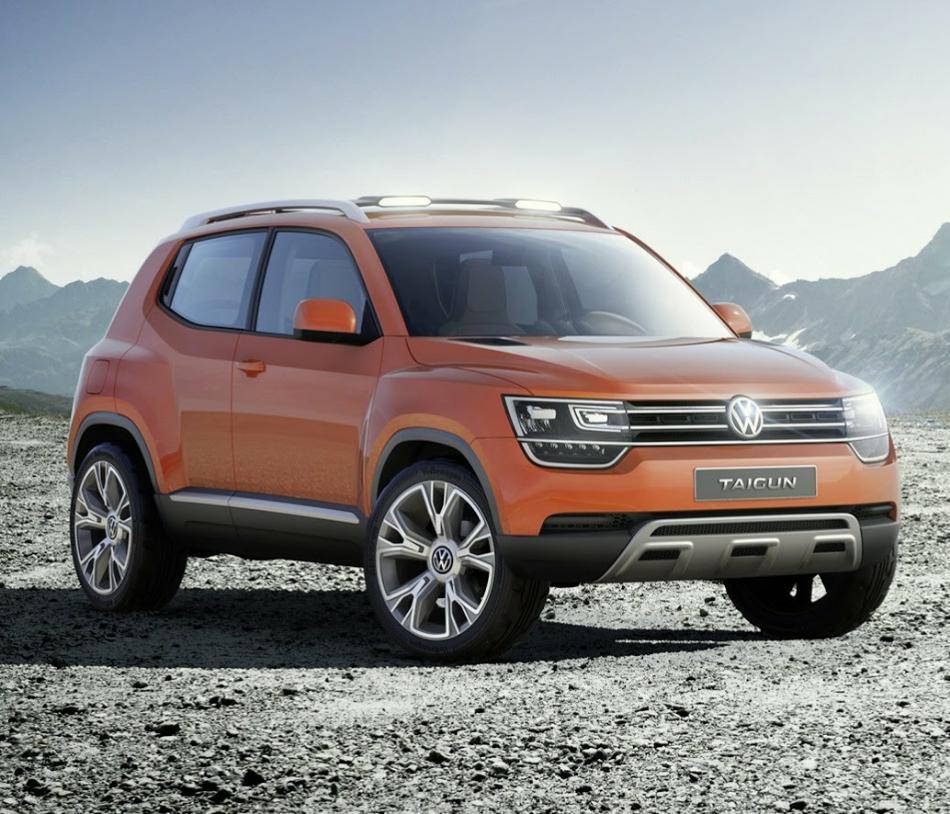фото концепта Volkswagen Taigun 2014