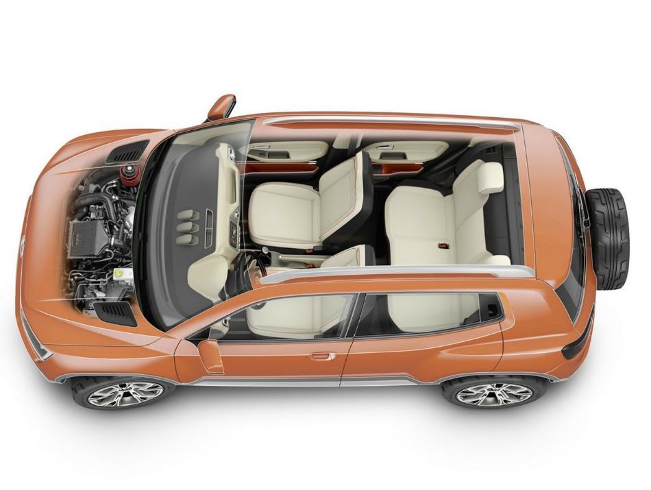крыша концепта Volkswagen Taigun 2014