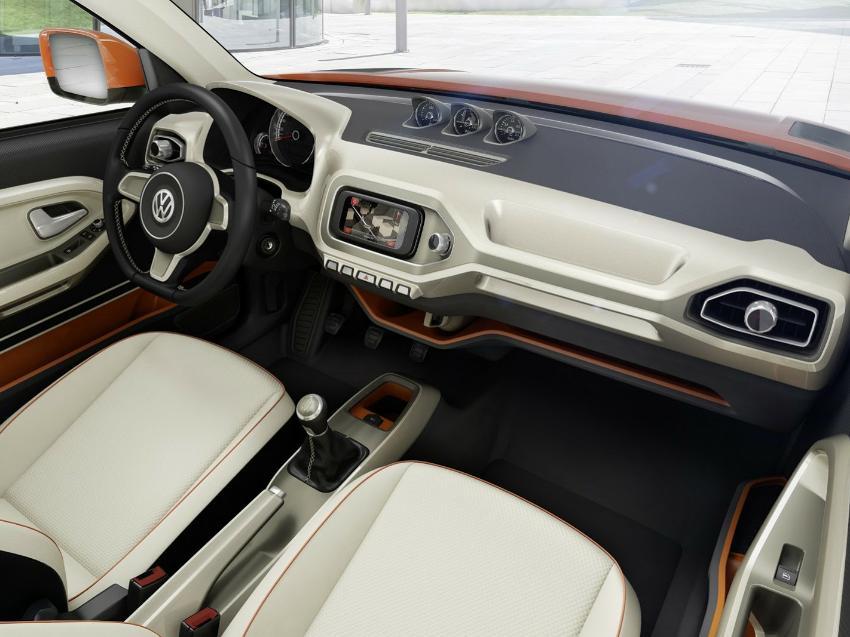 салон VW Taigun Concept 2014