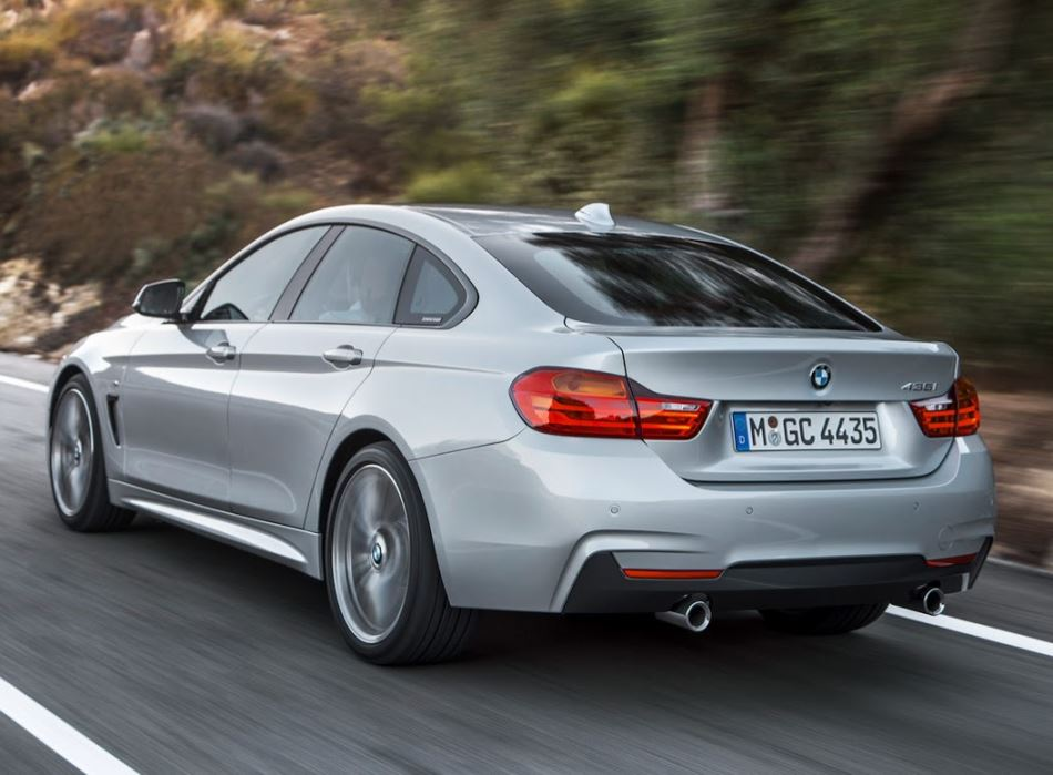 задние фонари BMW 4-Series Gran Coupe 2015