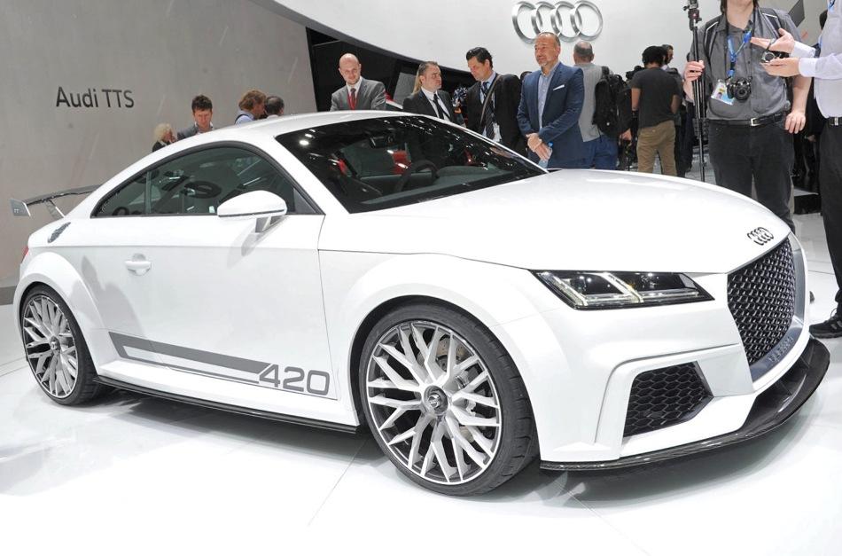 Audi TT quattro Sport Concept сбоку