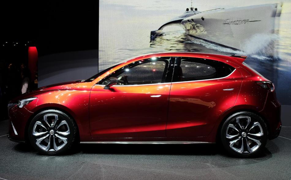 Mazda Hazumi Concept сбоку