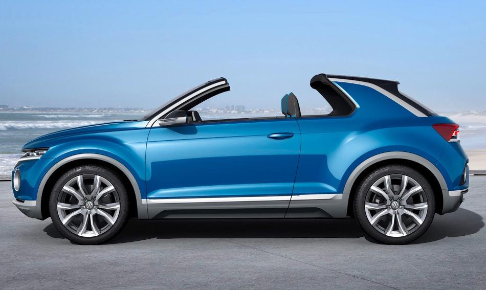 Volkswagen T-Roc сбоку