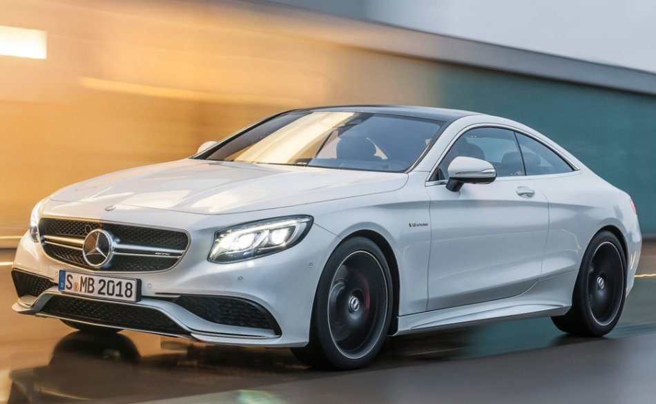 бампер и фары Mercedes S63 AMG Coupe 2015