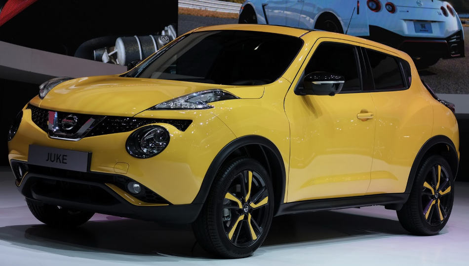 бампер и фары нового Nissan Juke 2015