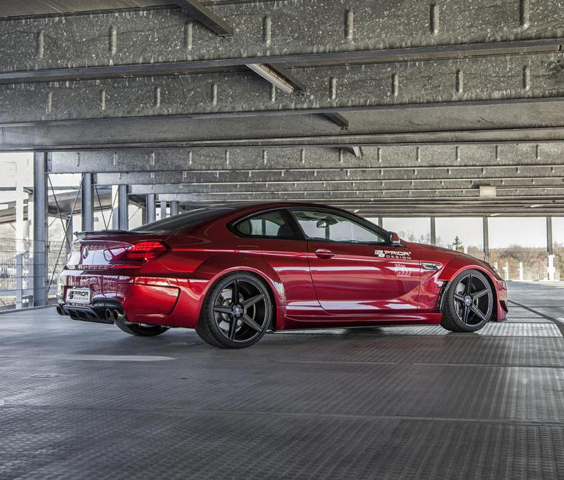 диски BMW 6-Series от Prior Design