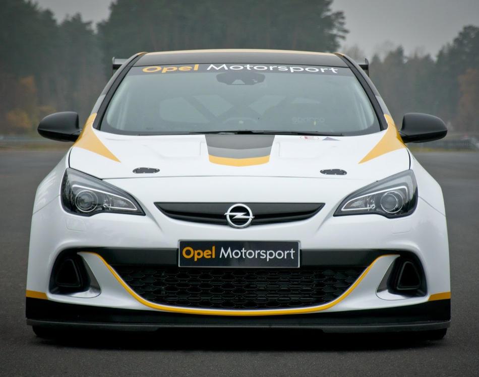 фары и бампер Opel Astra OPC Motorsport
