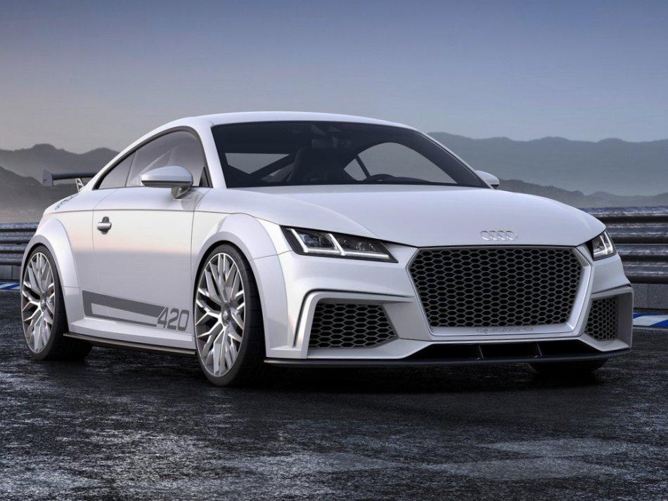 фото Audi TT quattro Sport Concept 2014