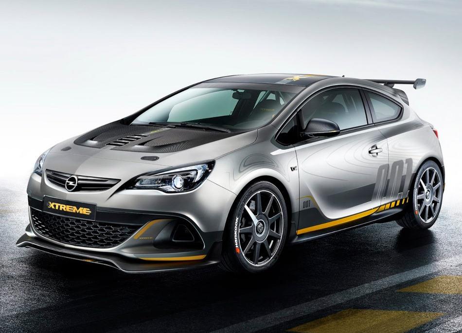 фото Opel Astra OPC Extreme 2015 года