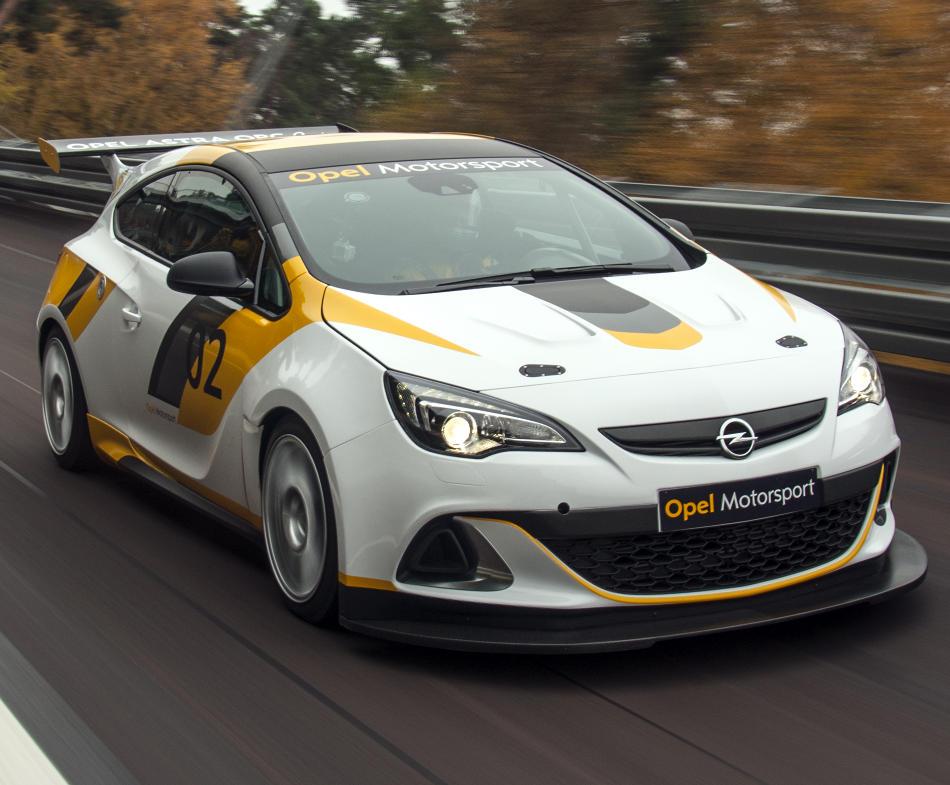 фото Opel Astra OPC Motorsport 2014