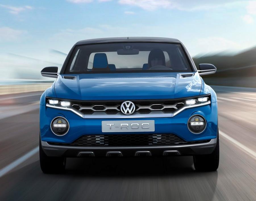 фото Volkswagen T-Roc 2014
