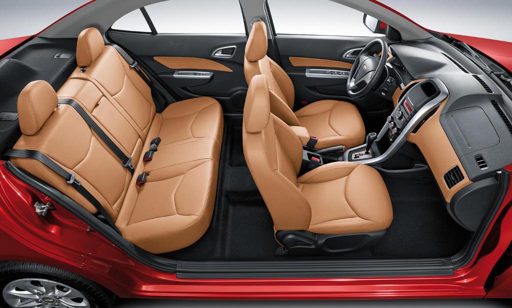 интерьер Chevrolet Optra