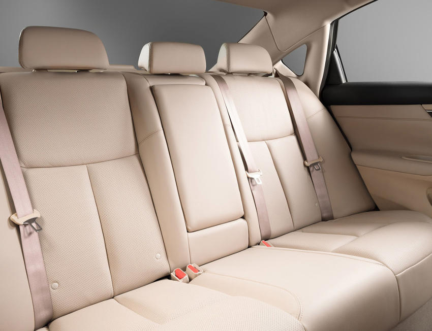интерьер Nissan Teana 2014